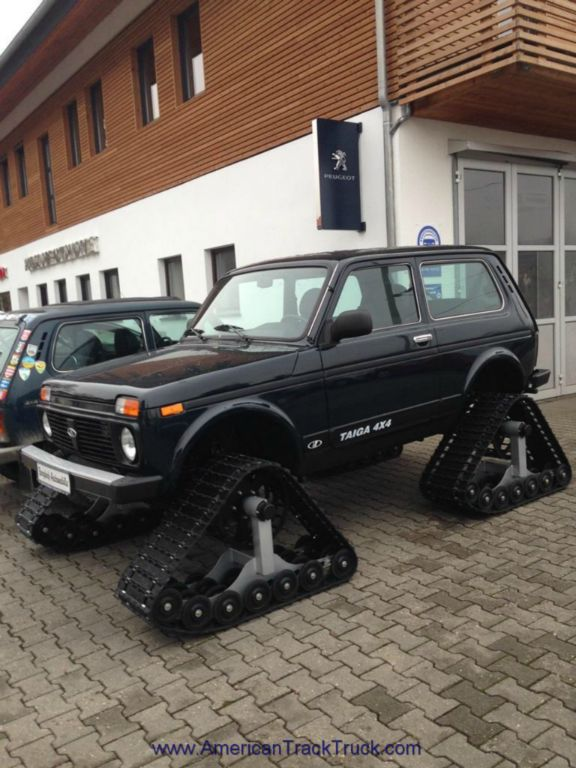AWD Cars Rubber Track System