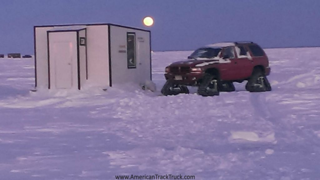 Snow tracks for jeep quotes for Lake of the woods ice fishing