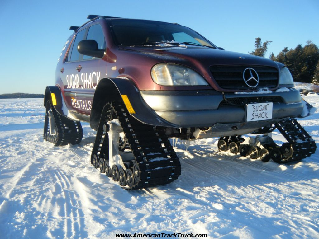 Snow tracks for trucks vehicles quotes for Mercedes benz tracking system