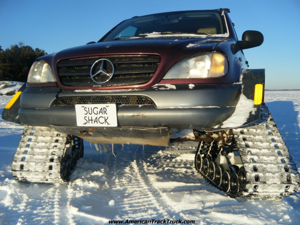 Pin snow track kit yamaha atv forum on pinterest for Mercedes benz tracking system
