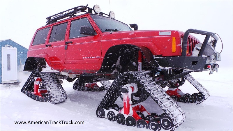 Tracks For Vehicles >> American Track Truck Car Truck Suv Rubber Track System