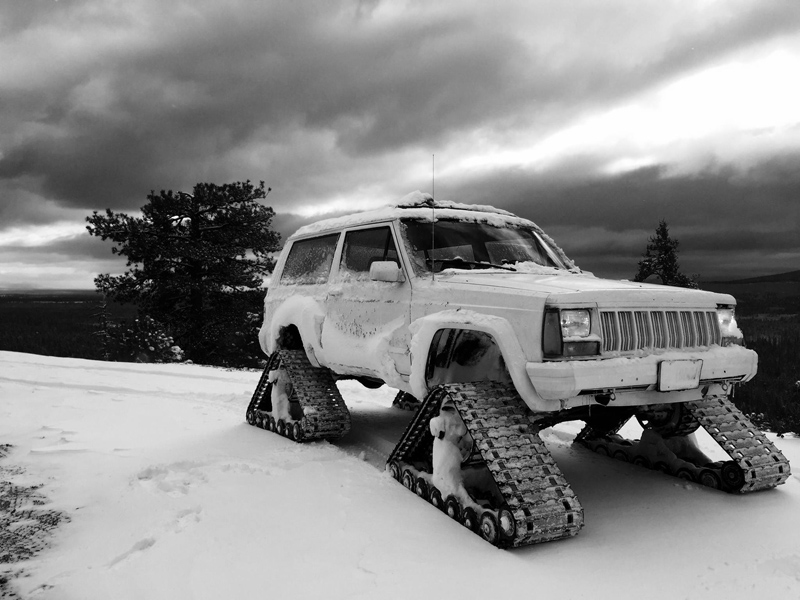 American Track Truck Car Truck Suv Rubber Track System